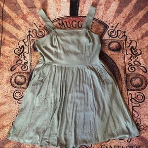 6f37bee2e4 Hot Topic Dresses - Hot topic Over the Garden Wall Greg Jumper